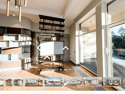 Virtual 3D tour of the demo apartment is already available!